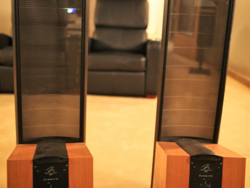 Martin Logan Summit X Electrostatic Floorstanding Speakers (pair NATURAL) Authorized Dealer-Full Warranty-FREE Shipping