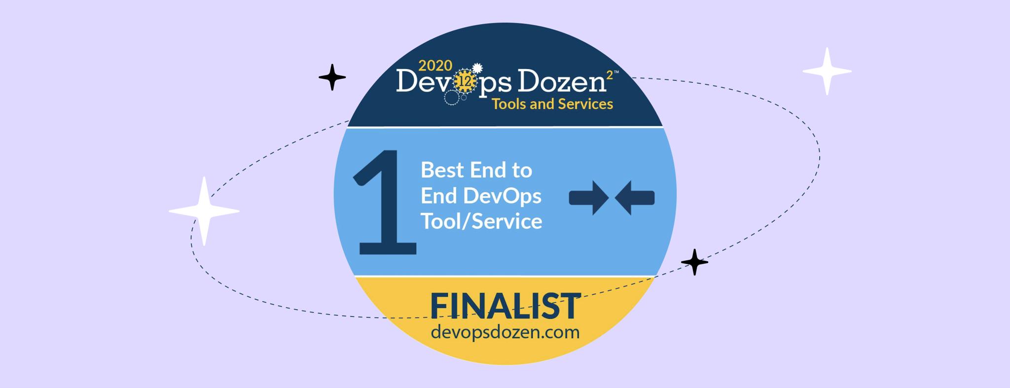 DevOps Dozen Awards 2020 badge