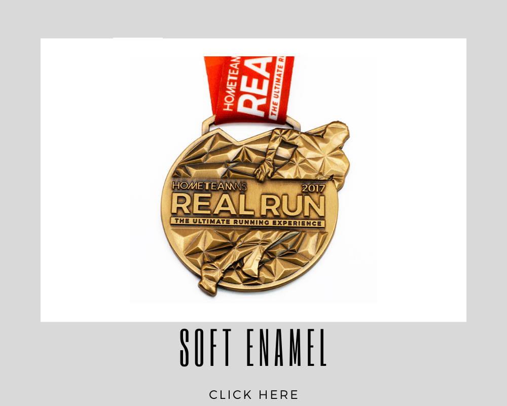 Custom Soft Enamel Corporate Medallions