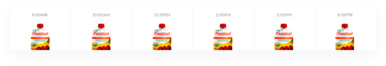 fastblast smoothie daily plan