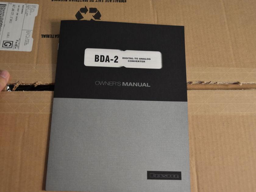Bryston BDA-2 DAC and Black Bryston BR2 remote