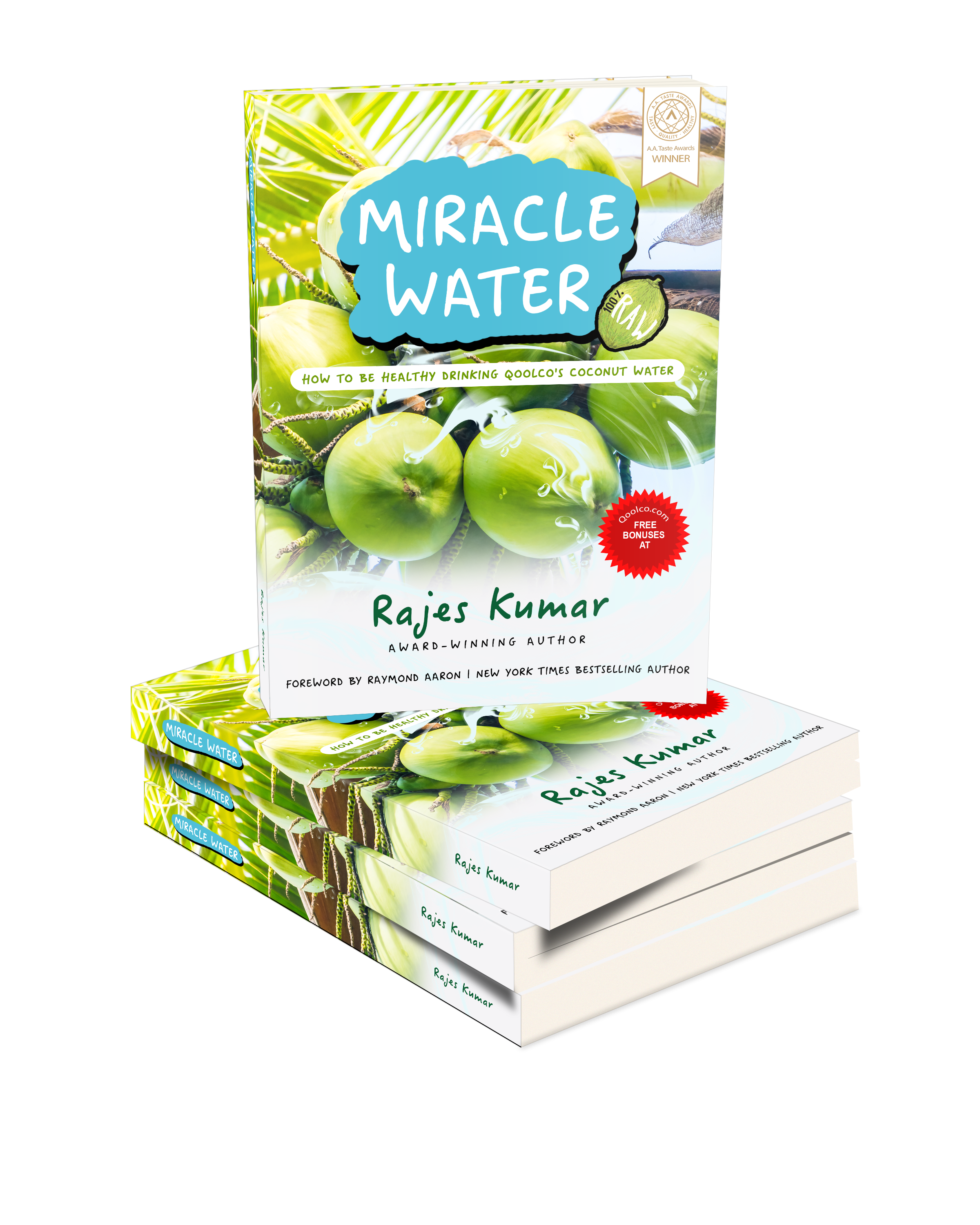 MIRACLE WATER: How to be Healthy Drinking Qoolco's Coconut Water