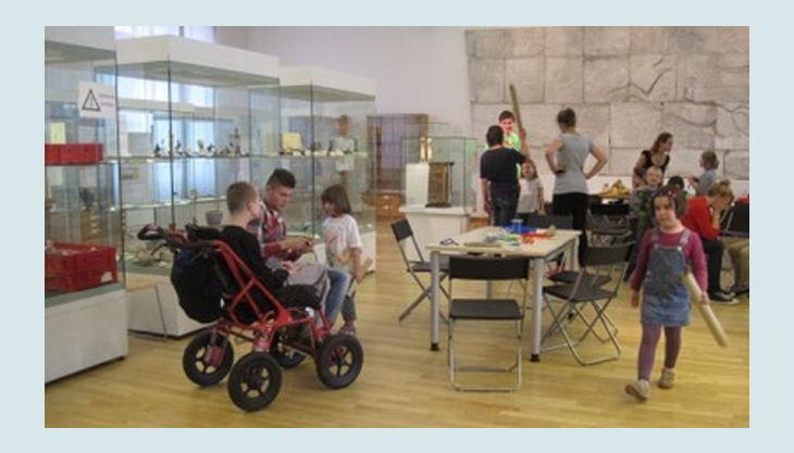 aegyptisches museum kinder im museum