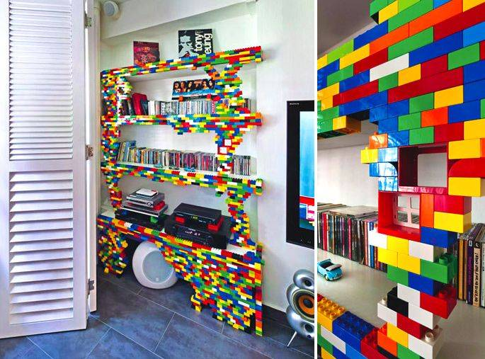Décor DIY design for Lego