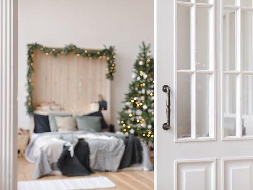 Das Gastezimmer Einrichten Ideen Fur Die Weihnachtsdekoration