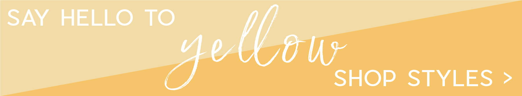 shop yellow spring styles from Bella ella boutique