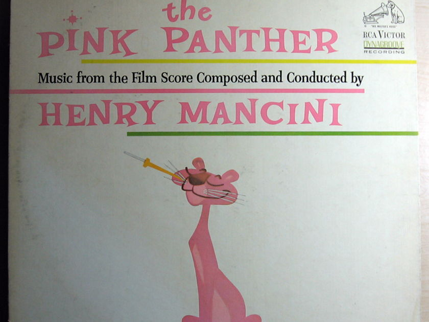 Henry Mancini - The Pink Panther (Music From The Film Score)  - 1963 RCA Victor LSP-2795 2nd Press