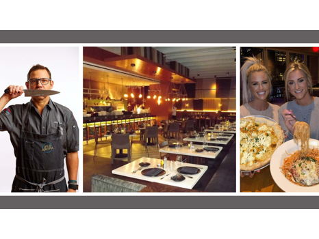 Blondes Who Eat + Chef John Tesar at Knife Restaurant at Highland Hotel Dallas Dinner Experience
