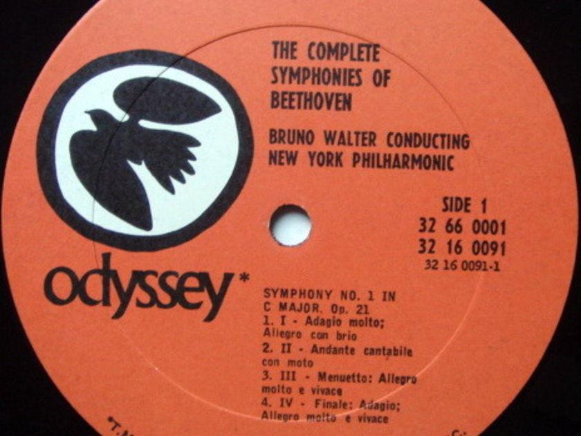 Columbia Odyssey / BRONO WALTER, - Beethoven The Nine Symphonies, NM, 6LP Box Set!