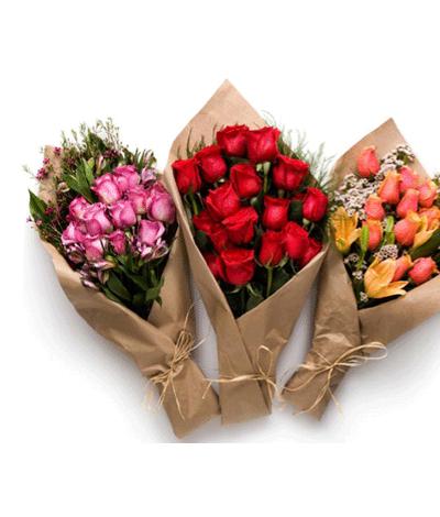 Bangalore Flowers Special Mix Roses Bouquet