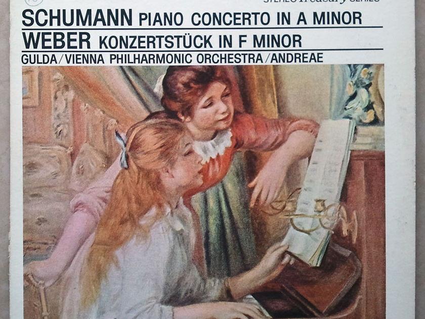 London ffrr | GULDA/SCHUMANN - Piano Concerto / WEBER Konzertstück in F minor / NM