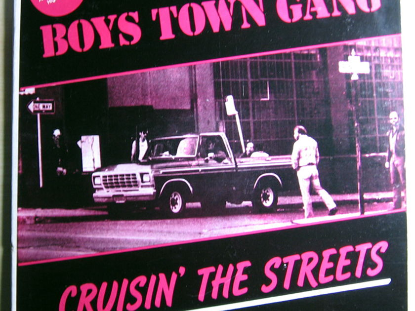 Boys Town Gang - Cruisin' The Streets - 1981 Moby Dick Records BTG-231