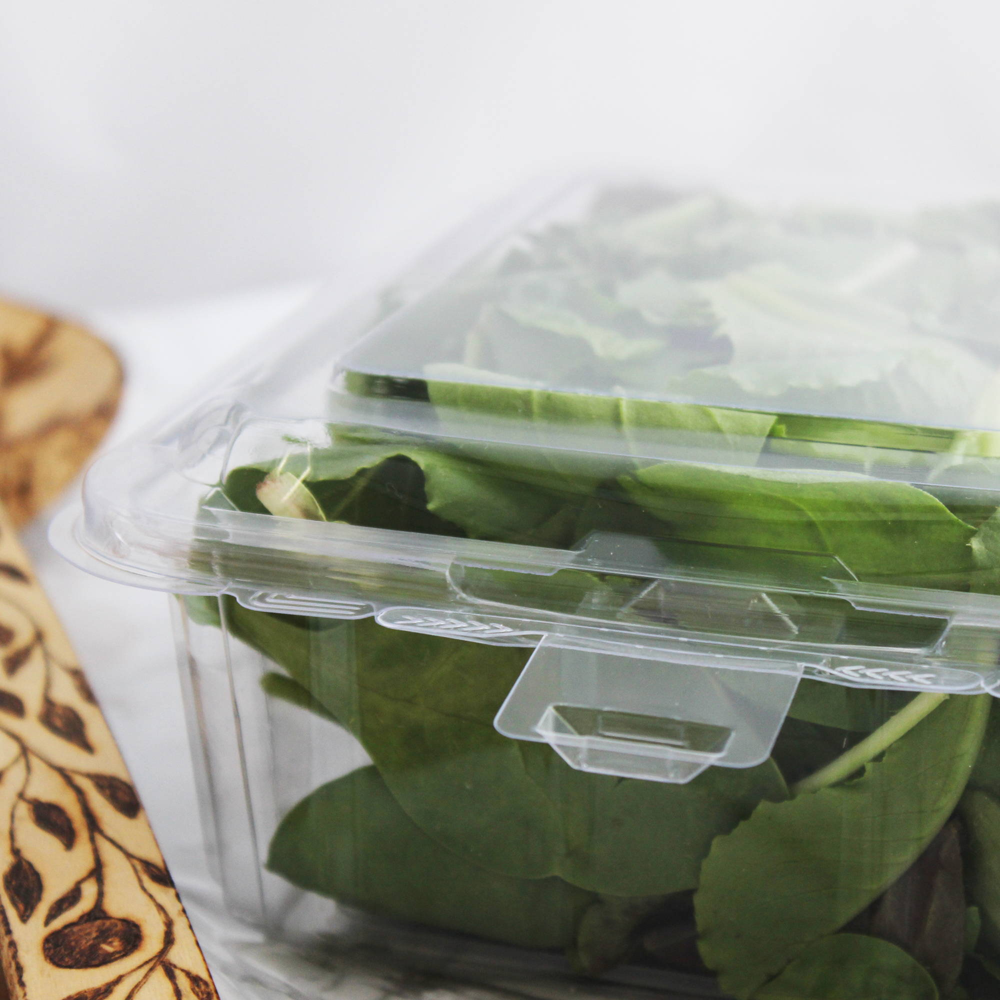 plant based food packaging for herbs and microgreens, canada