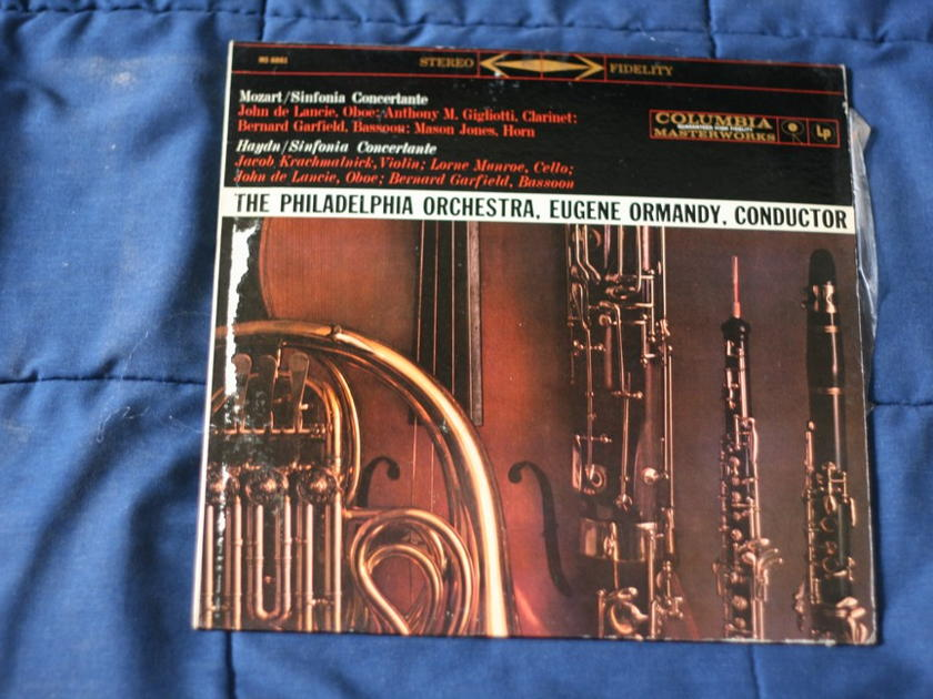 Eugene Ormandy - Mozart and Haydn/Sinfonia Concertante MS 6061
