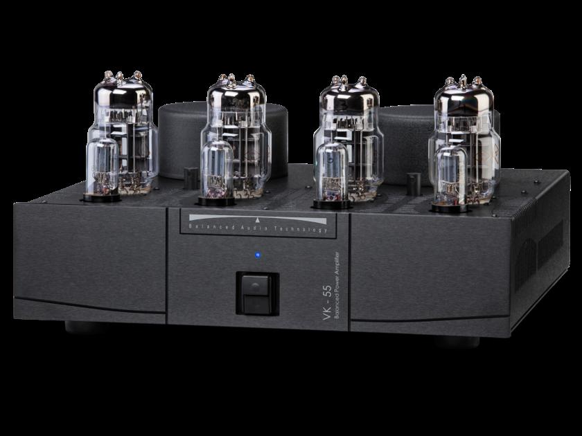 BAT VK-55 Balanced Audio Technology Tube Amplifier 55 w/p/c
