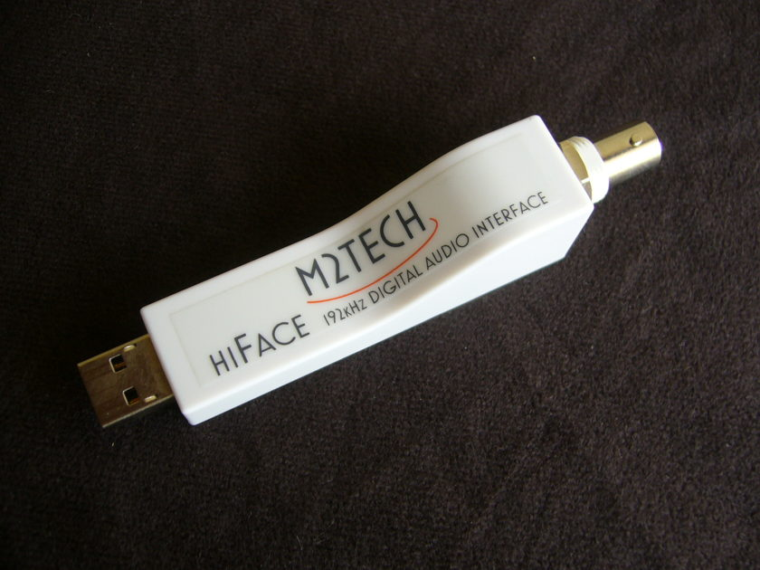 M2Tech HiFace USB to S/PDIF converter BNC Audioquest cable & FREE Shipping!