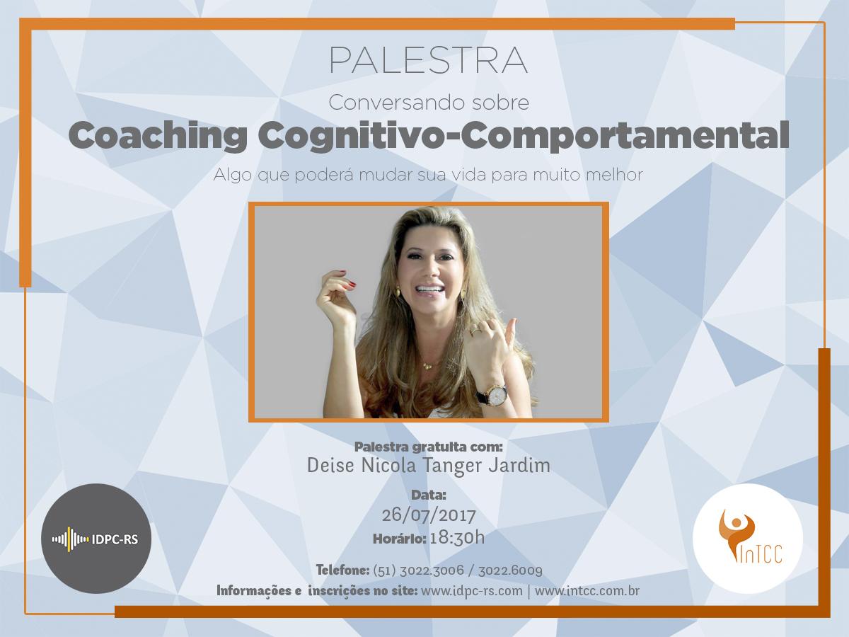 Palestra Gratuita: Conversando sobre Coaching Cognitivo-Comportamental