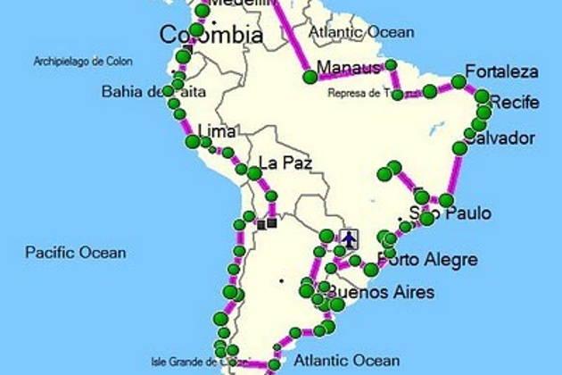 Составление маршрута поездки
