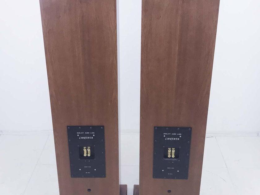 Dunlavy Cantata Floorstanding Speakers; Cherry Pair(10415)