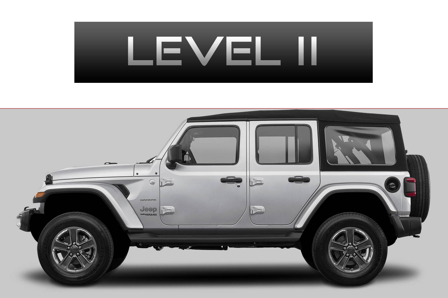 JEEP Wrangler JL Off-Road Customizing Package Level 2 by 3C Trucks