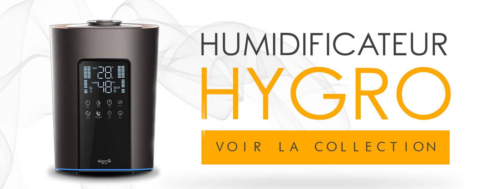 Humidificateur d'air avec Hygrostat