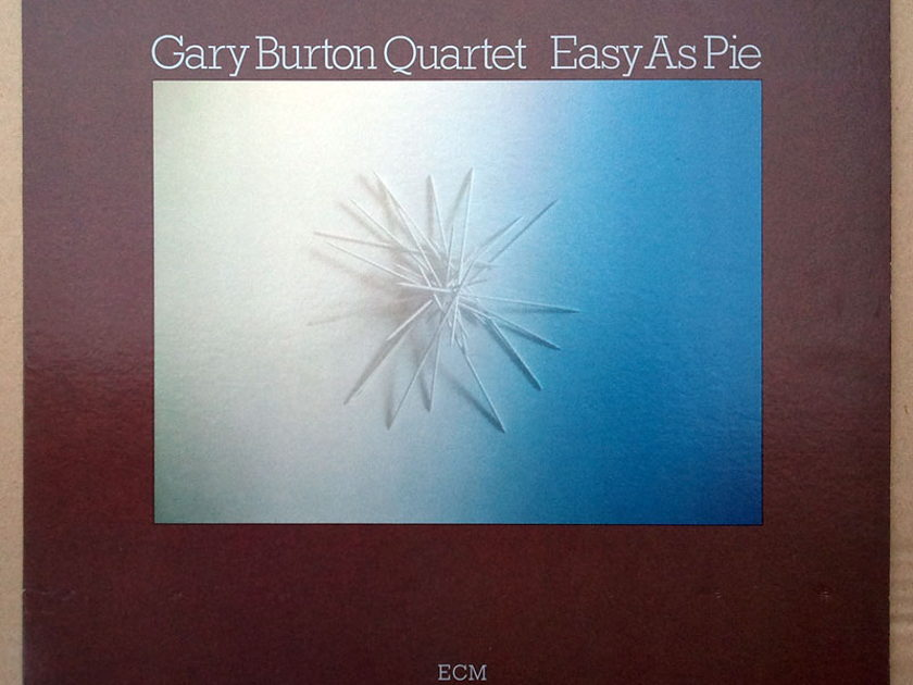ECM Records/ Gary Burton Quartet - Real Life Hits - & Easy As Pie / 2 LPs / NM