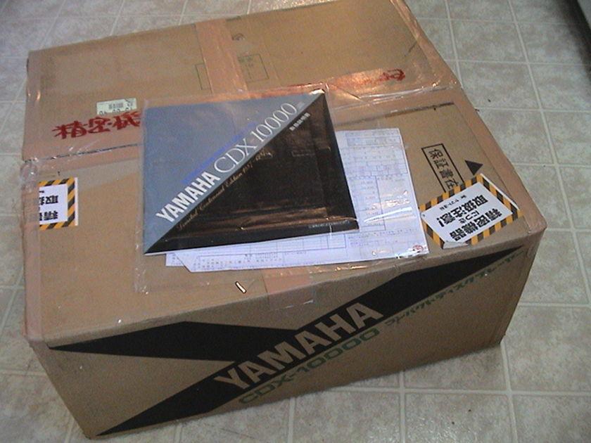 Yamaha CDX-10.000 centennial , mint.