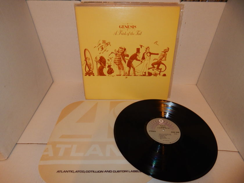 GENESIS A Trick Of The Tail - Mint Vinyl Atco SD 38-101 Gatefold & Atlantic Sleeve NM LP