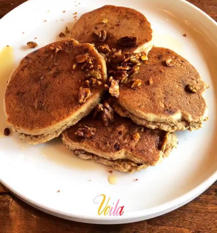 pumpkin paleo pancake recipe