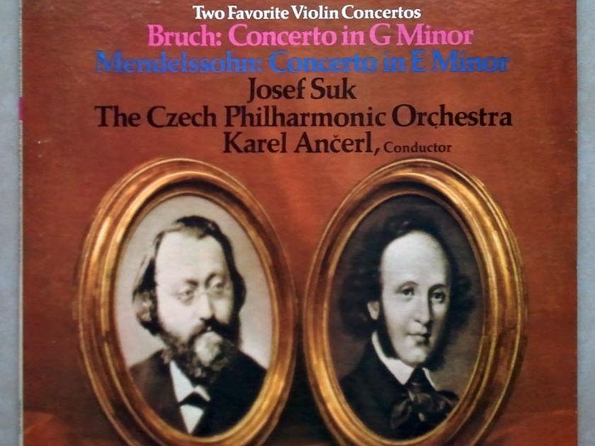 Epic/Josef Suk/Bruch - & Mendelssohn Violin Concertos / NM
