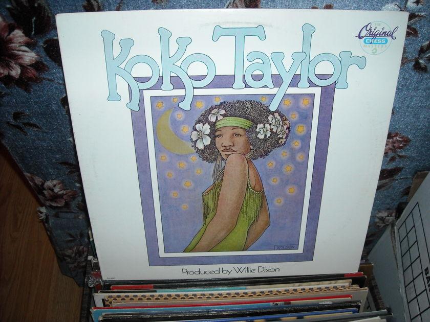 Koko Taylor - Songs of Koko Taylor Chess LP (c)