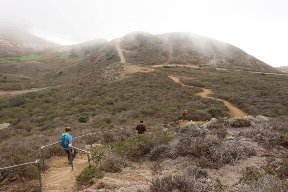 Hike Hill 88 and Battery Townsley in the Marin Headlands