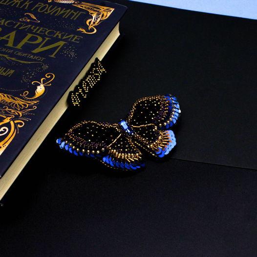 Брошь бабочка Arabian night