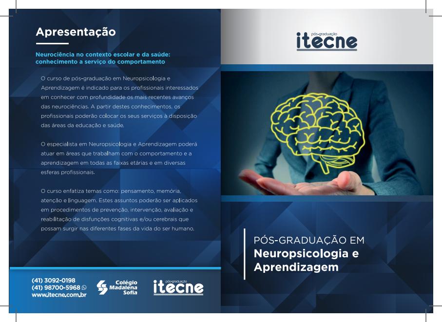 24ª Turma da Pós em Neuropsicologia e Aprendizagem