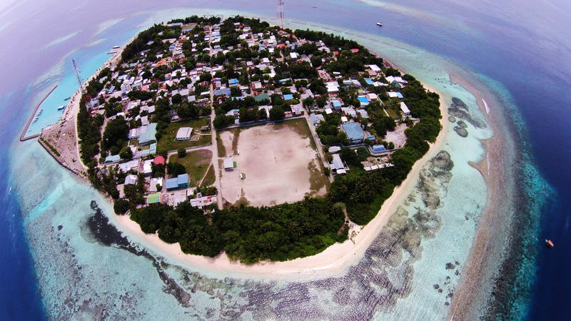 Aerial view of Rasdhoo