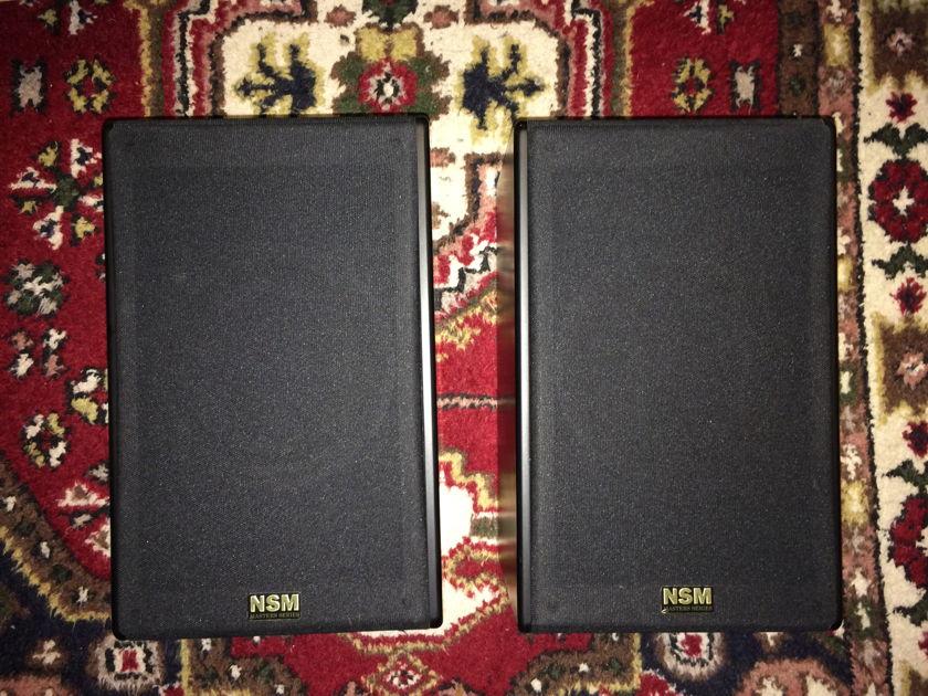 NSM Segue matched pair, black