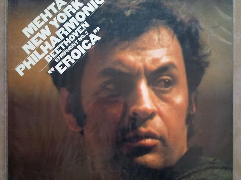Sealed CBS Digital | MEHTA/BEETHOVEN - Symphony No. 3 Eroica / Promo copy - Audiophile Pressing