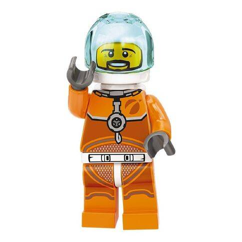 orange lego 60226 minifig