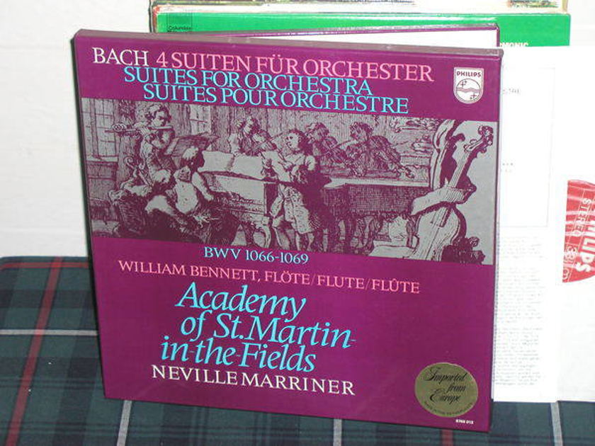 Marriner/AoStMitF - Bach 4 Suites Philips Import pressing 6769