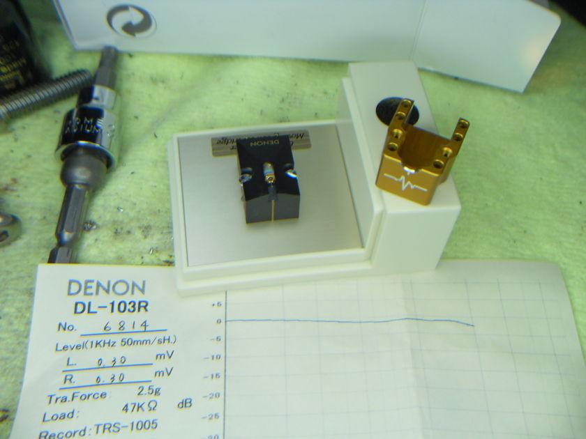 Paradox Pulse 103R matched channel clear DL-103R, Denon, ZU