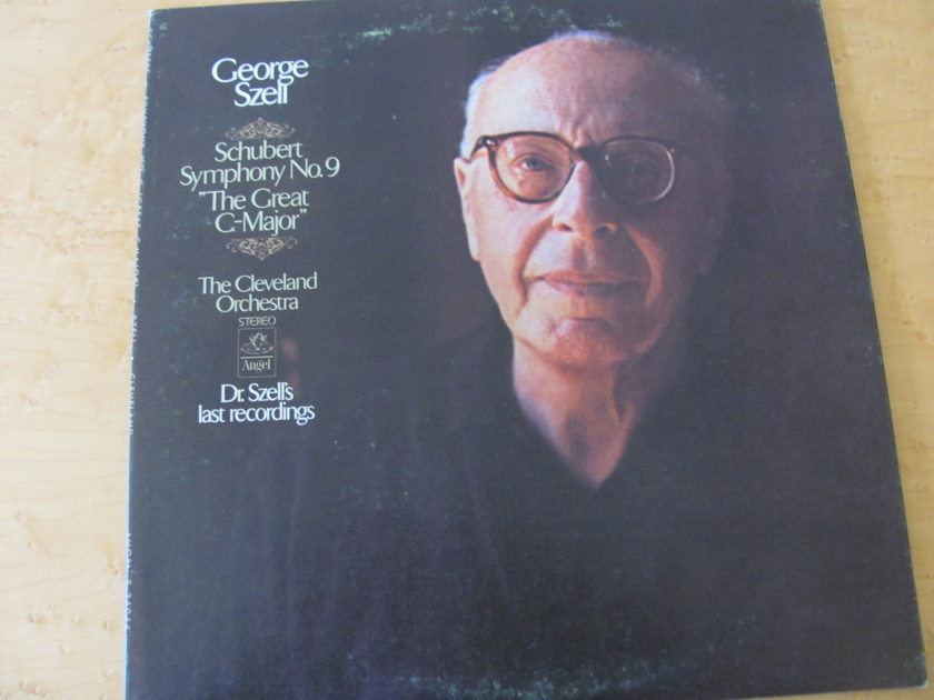 Schubert: Symphony No. 9,  - Angel records, George Szell,  The Cleveland Orchestra, NM
