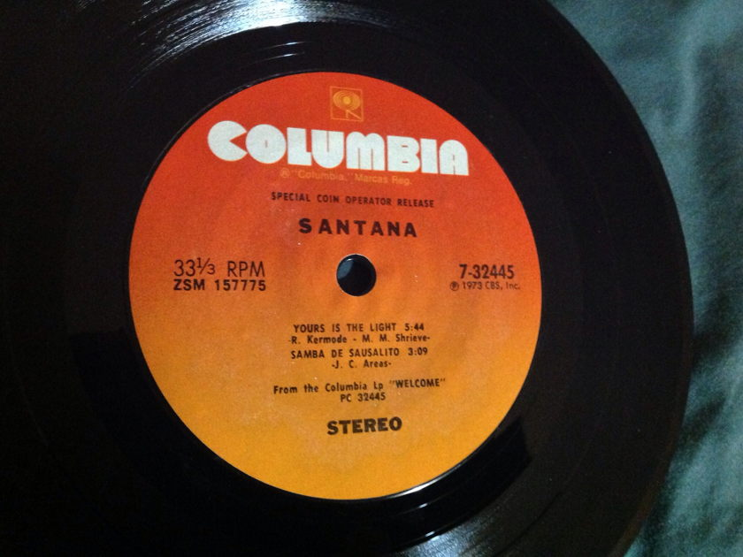 Santana - Welcome  Playback EP NM
