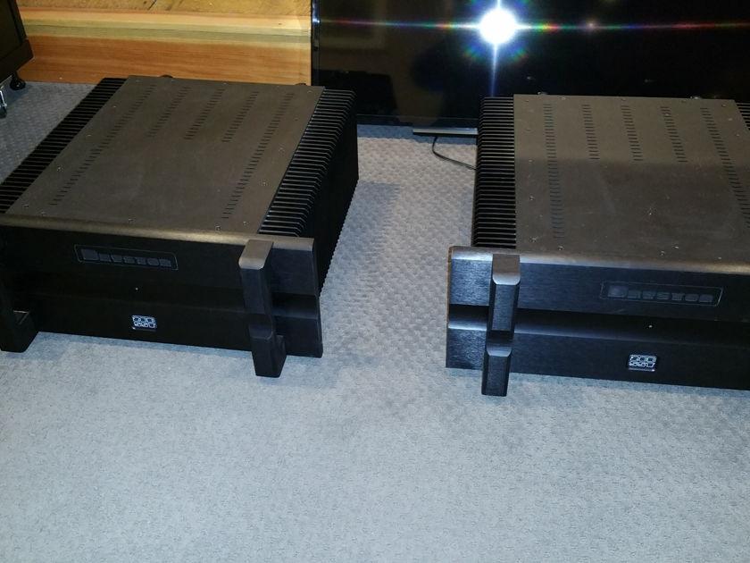 Bryston 28BSST 1000 watt mono block amps
