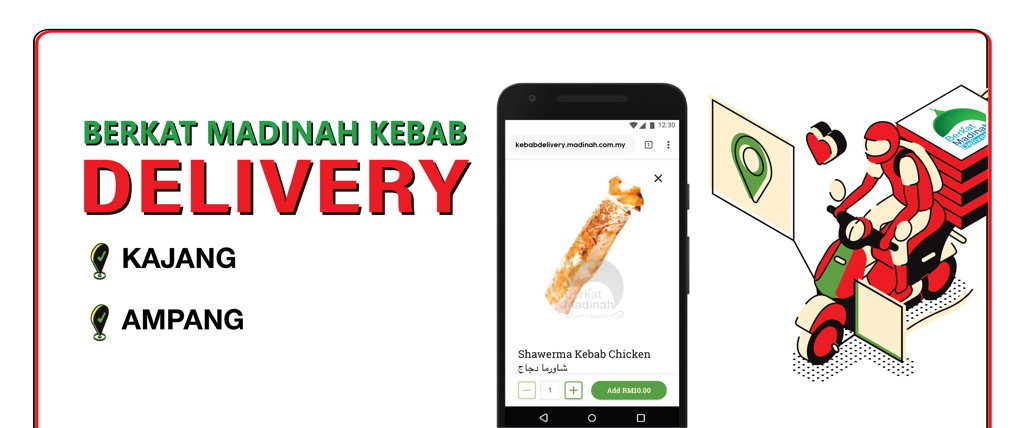 Berkat Madinah Kebab