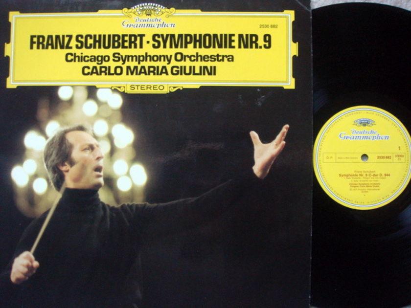 DG / Schubert Symphony No.9, - GIULINI/CSO, MINT!