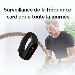 Amazfit Band 5 - Gardez un œil sur votre fréquence cardiaque toute la journée