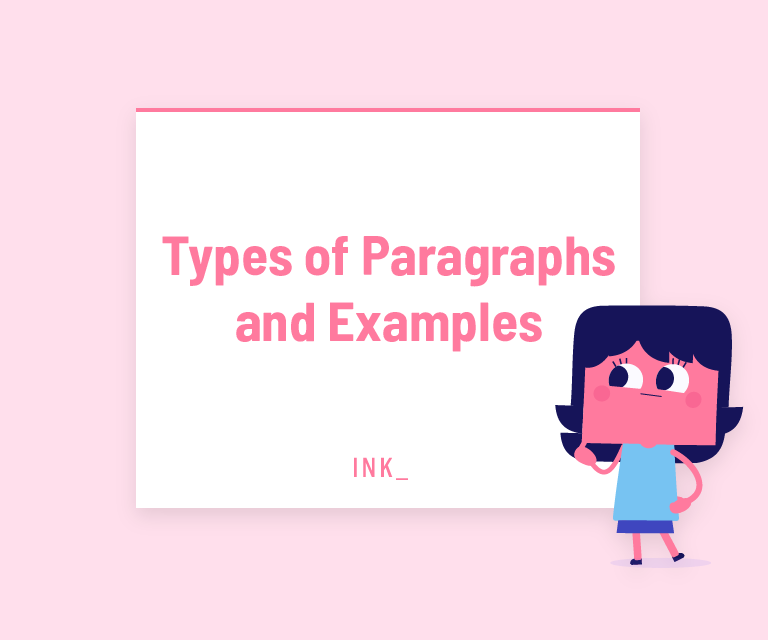 Types of paragraphs and examples