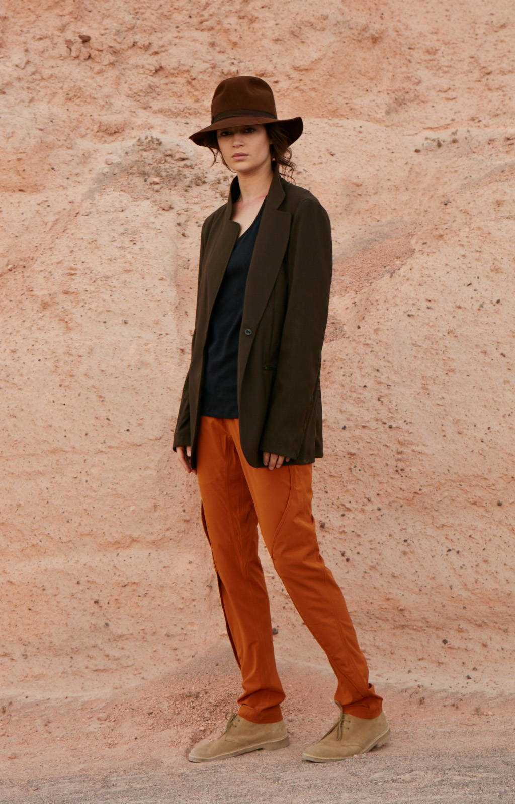 PURITY - METICULOUS CRAFTSMANSHIP, A BEAUTIFUL TRAVEL PANT GINGER