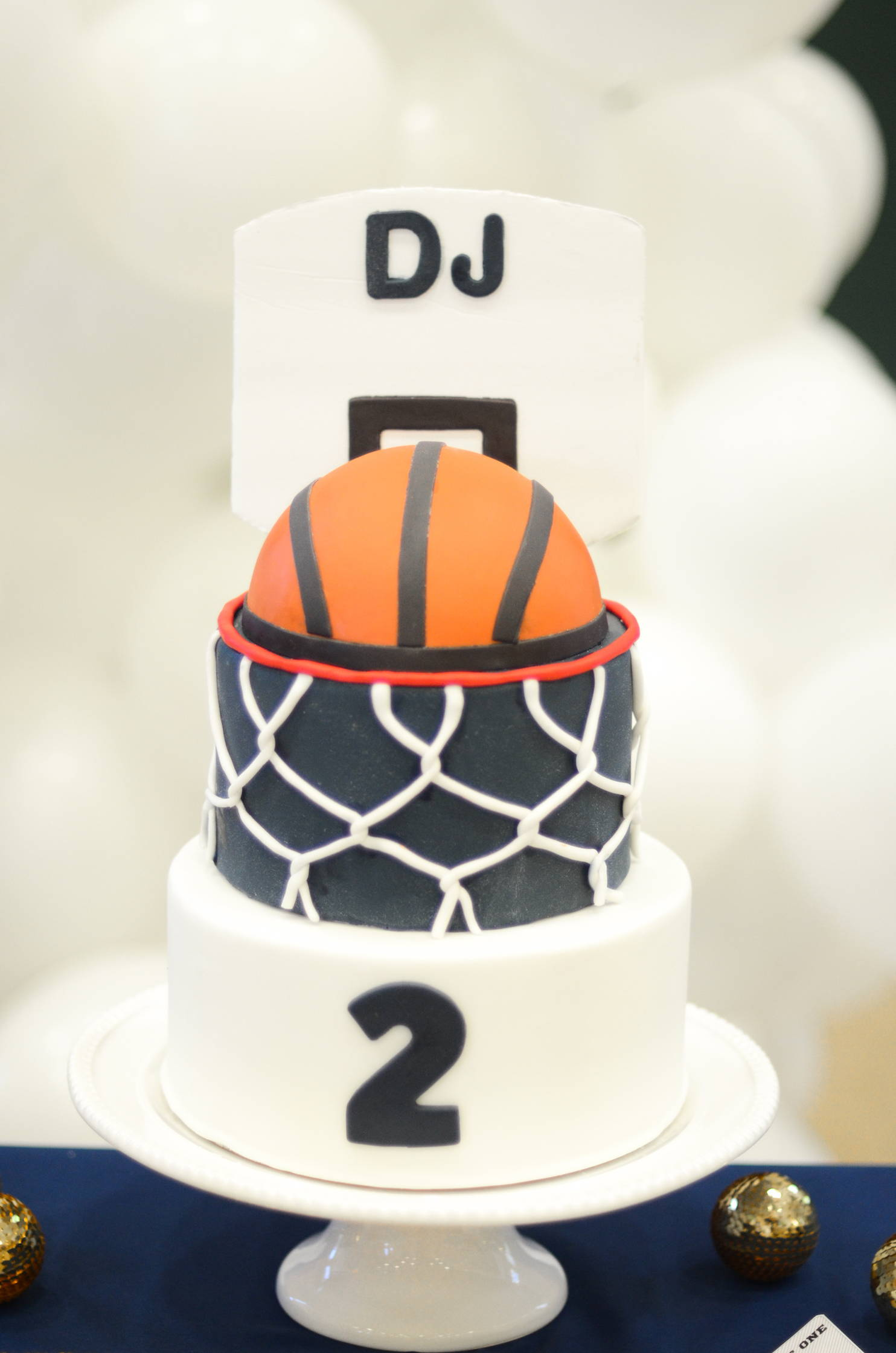 Basketball Party Ideas, Basketball Themed Cake