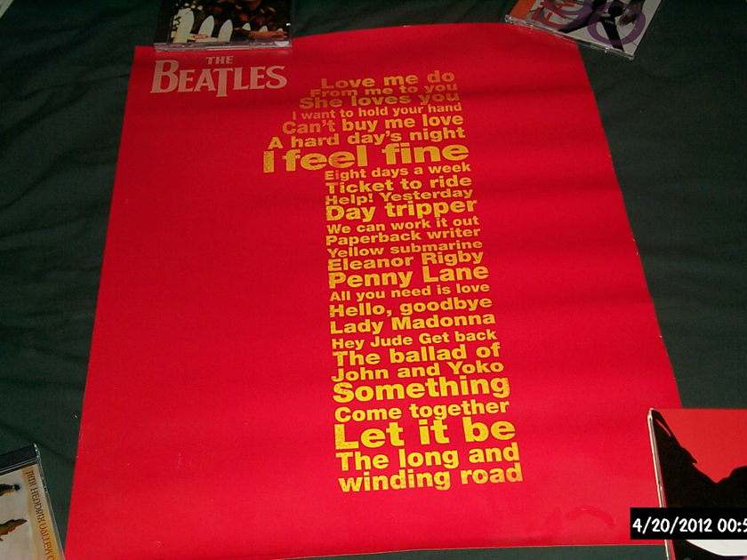 The beatles - Promo Poster no.1's